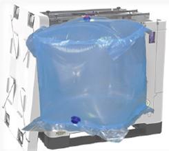 Cube IBC liner