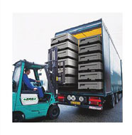 IBC delivery and collection