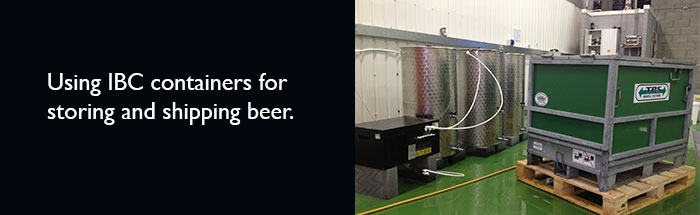 IBC Containers for brewers