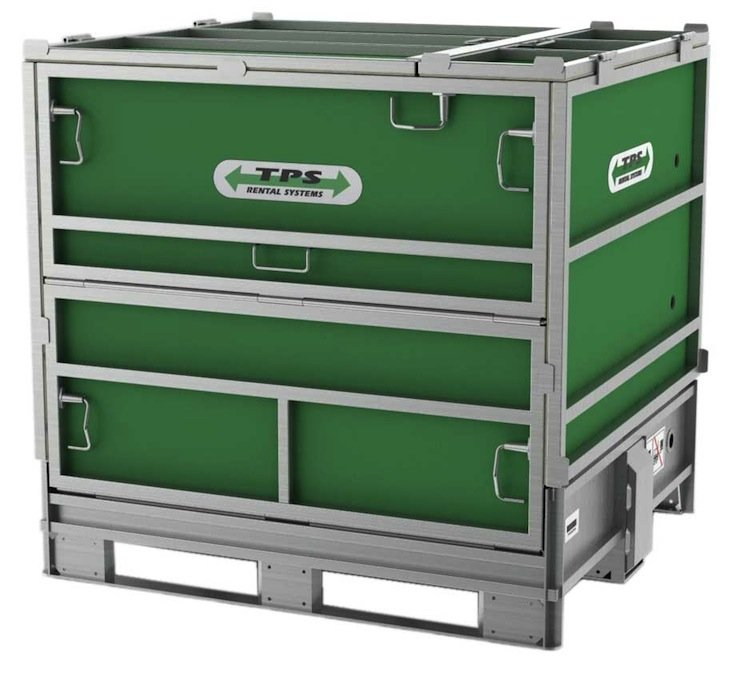 Folding IBC Container